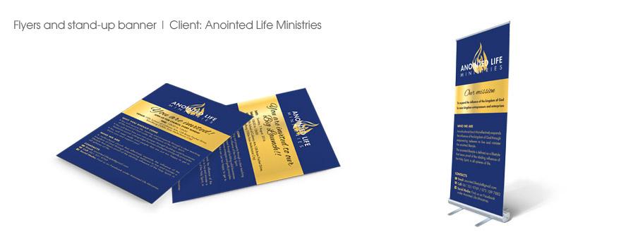 AnointedLife-Flyers&Banner